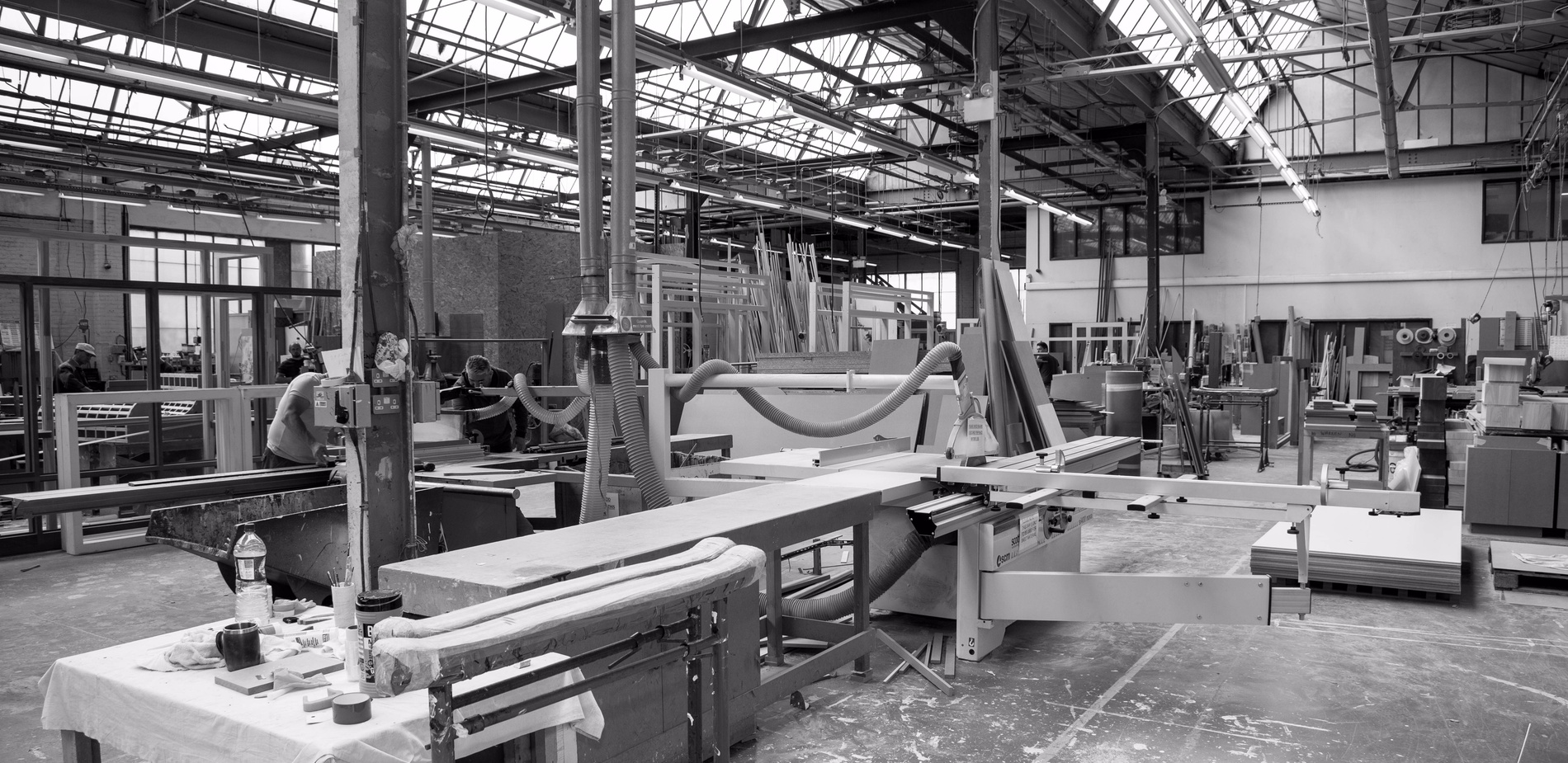 Joinery factory - Sash windows, timber doors, staircase manufacturer - K&D Joinery London