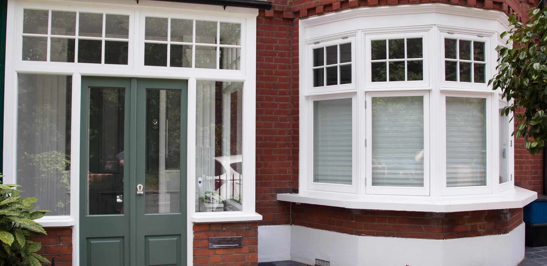 Sash Windows and Front Door - K&D Joinery