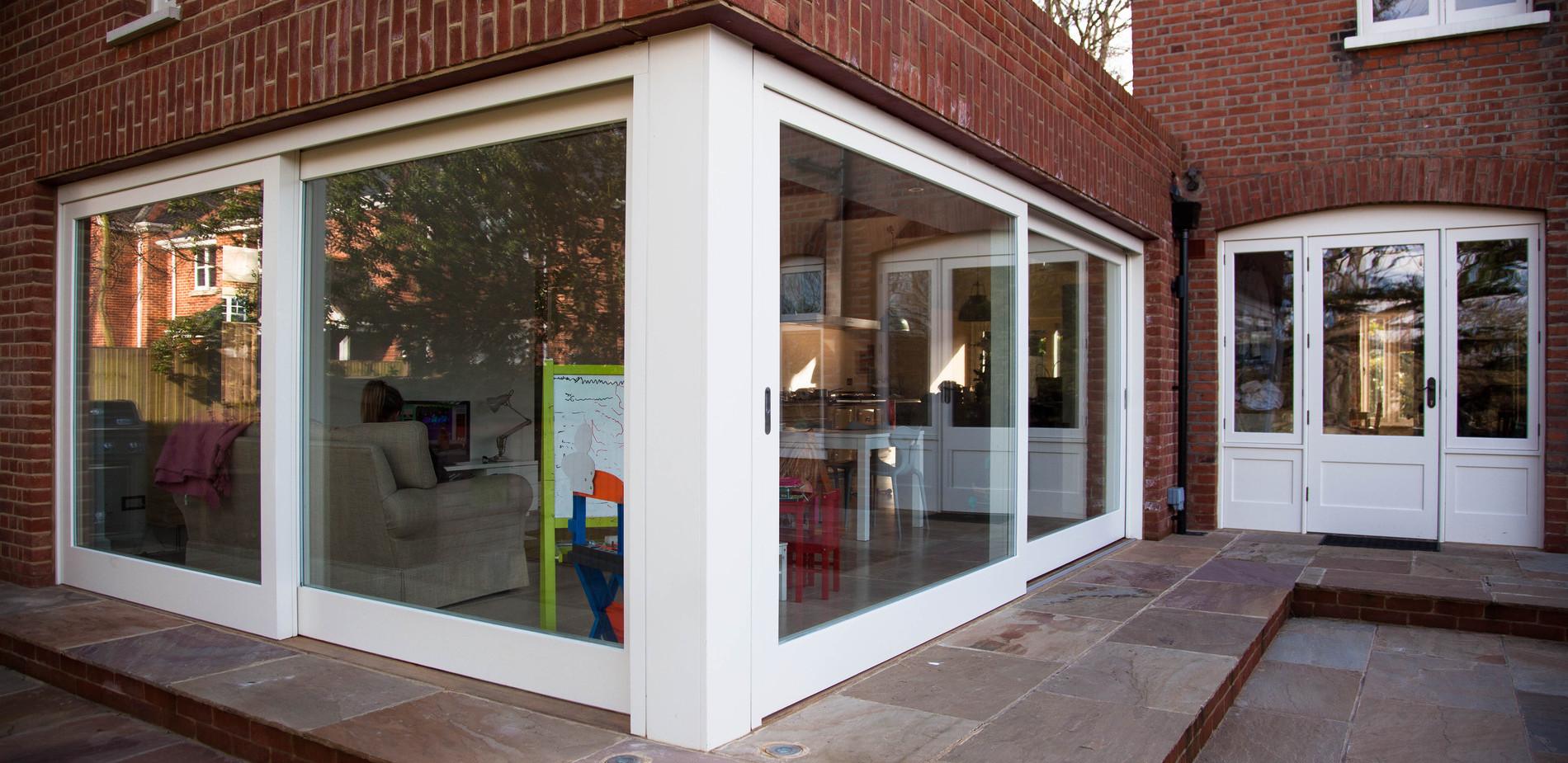 Sliding doors - Sash windows, timber doors, staircase manufacturer - K&D Joinery London