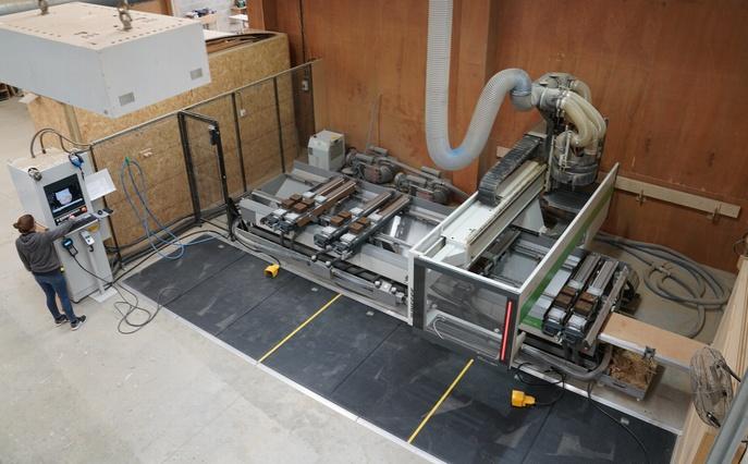 Biesse CNC machine