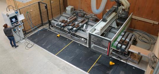 new biesse CNC machine